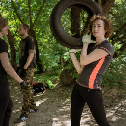 """Summer Open Training """"Fight & Fit"""" started in Kyiv"""
