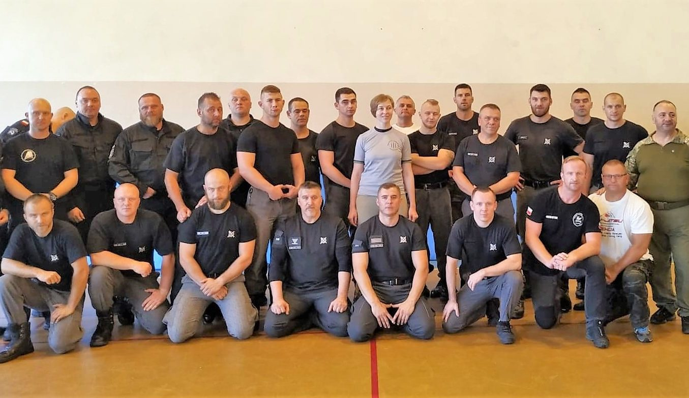 """Taktika Combatives"" was presented at 19th international seminar of martial arts and force detection techniques in Poland"