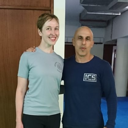 Director of Ukrainian Combatives Federation has been certified by ICS (Integrated Combat System)