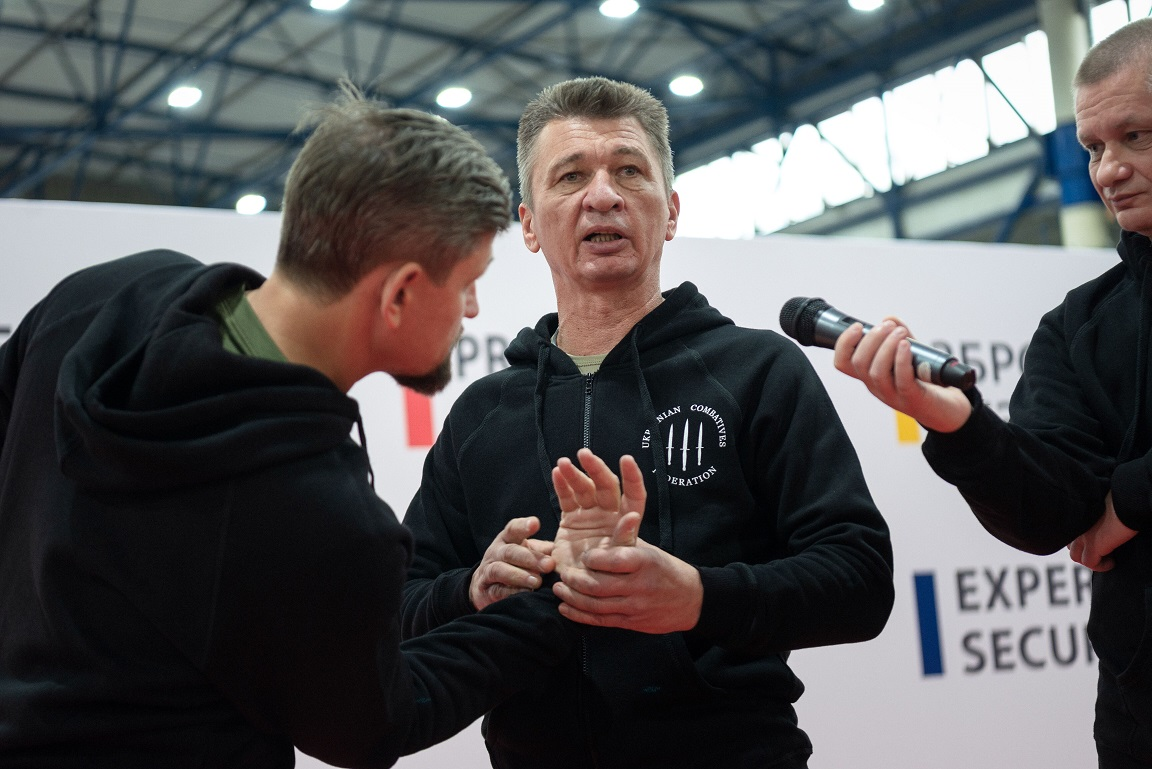 """SELF-DEFENSE WORKSHOPS WERE HELD DURING THE INTERNATIONAL EXHIBITION """"EXPERT SECURITY 2019"""""""