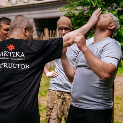 Training session for instructors in Kiyv