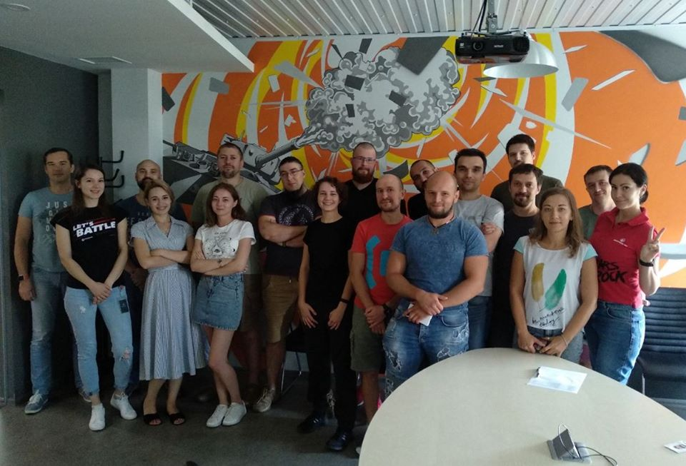New Intro level group started in Kyiv